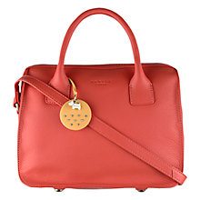Buy Radley Bickley Leather Multiway Bag, Orange Online at johnlewis.com