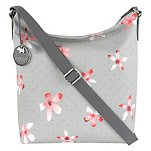 Buy Radley Cloudsley Medium Bucket Across Body Bucket Bag, Grey Online at johnlewis.com