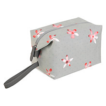 Buy Radley Cloudsley Large Wash Bag, Light Grey Online at johnlewis.com