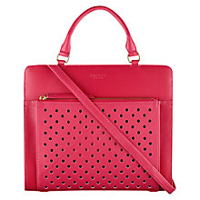 Buy Radley Clerkenwell Leather Medium Multiway Shoulder Bag, Pink Online at johnlewis.com