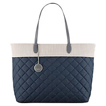 Buy Radley Claremont Hill Large Tote Bag, Navy Online at johnlewis.com