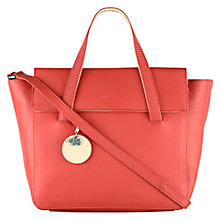 Buy Radley Kew Medium Multiway Leather Grab Bag, Orange Online at johnlewis.com