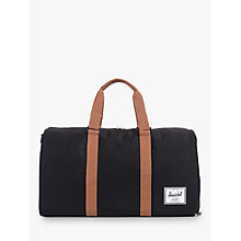 Buy Herschel Supply Co. Novel Holdall, Black Online at johnlewis.com