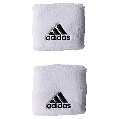 Adidas Tennis Wristbands, Large, White