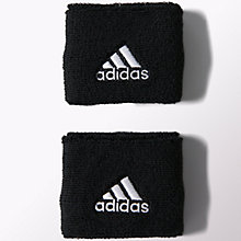 Buy Adidas Tennis Wristbands, Small, Pack of 2, Black Online at johnlewis.com
