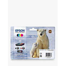 Buy Epson Polar Bear 26 Ink Cartridge Multipack Online at johnlewis.com