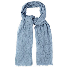 Buy White Stuff Scatter Spot Dreaming Away Scarf, Multi Online at johnlewis.com