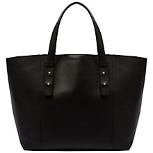 Buy Gerard Darel Smooth Leather Greenwich Bag, Black Online at johnlewis.com