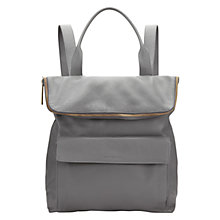 Buy Whistles Large Verity Backpack, Dark Grey Online at johnlewis.com