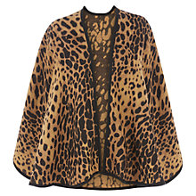 Buy Oasis Animal Wrap, Brown Online at johnlewis.com