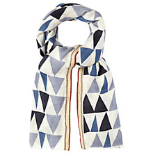 Buy White Stuff Large Geo Print Scarf, Multi Online at johnlewis.com