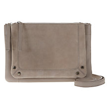 Buy Mint Velvet Ruby X-Body Bag, Mink Online at johnlewis.com