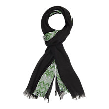 Buy Gerard Darel Ave Scarf, Black Online at johnlewis.com