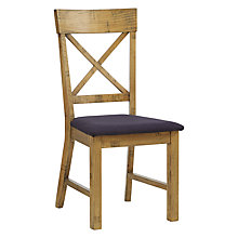 Buy John Lewis Bolton Dining Chair, Black Online at johnlewis.com
