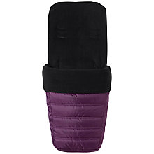 Buy Baby Jogger Multi Pushchair Footmuff, Purple Online at johnlewis.com