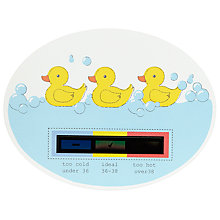 Buy John Lewis Duck Bath Thermometer Online at johnlewis.com