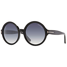 Buy TOM FORD FT0369 Round Sunglasses Online at johnlewis.com