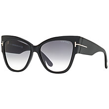 Buy TOM FORD FT0371 Cat Eye Sunglasses Online at johnlewis.com