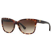 Buy Emporio Armani EA4038 Cat's Eye Sunglasses, Havava Online at johnlewis.com