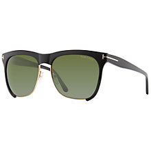 Buy TOM FORD FT0366 Cat Eye Sunglasses, Black Online at johnlewis.com
