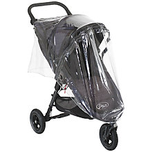 Buy Baby Jogger City Mini GT Pushchair Raincover, Single Online at johnlewis.com