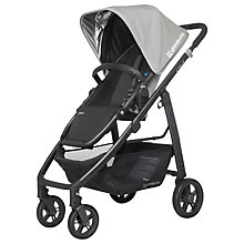 Buy Uppababy Cruz 2015 Pushchair, Pascal Grey Online at johnlewis.com