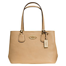 Buy Coach Kitt Carryall Leather Shoulder Bag Online at johnlewis.com