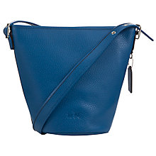 Buy Coach Mini Duffle Leather Bucket Bag Online at johnlewis.com