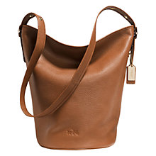 Buy Coach Duffle Leather Shoulder Bag Online at johnlewis.com
