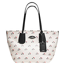 Buy Coach Taxi Bramble Print Leather Zip Tote Bag, Multi Online at johnlewis.com