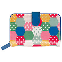 Buy Cath Kidston Patch Spot  Folded Zip Wallet, Multi Online at johnlewis.com