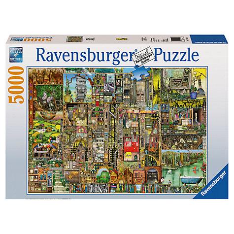 buy ravenburger bizarre town jigsaw puzzle 5000 pieces. Black Bedroom Furniture Sets. Home Design Ideas