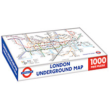 Buy Transport For London London Underground Jigsaw Puzzle, 1000 Pieces Online at johnlewis.com