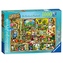 Buy Ravensburger The Gardener's Cupboard Jigsaw Puzzle, 1000 Pieces Online at johnlewis.com