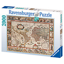 Buy Ravensburger 1650 World Map Jigsaw Puzzle, 2000 Pieces Online at johnlewis.com