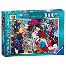 Buy Ravenburger Crafty Yarns Jigsaw Puzzle, 1000 Pieces Online at johnlewis.com