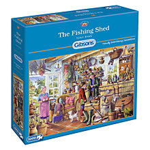 Buy Gibsons The Fishing Shed Jigsaw Puzzle, 1000 Pieces Online at johnlewis.com