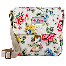 Buy Cath Kidston Rainbow Mini Satchel, White Online at johnlewis.com