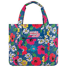 Buy Cath Kidston Paradise Flower Large Open Carry All Bag, Blue Online at johnlewis.com