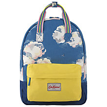 Buy Cath Kidston Clouds Small Back Pack, Blue Online at johnlewis.com