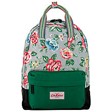Buy Cath Kidston Rainbow Small Back Pack, Blue Online at johnlewis.com