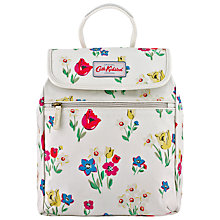 Buy Cath Kidston Paradise Flowers Handbag Back Pack, Cream Online at johnlewis.com