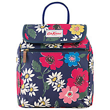 Buy Cath Kidston Paradise Flowers Handbag Back Pack, Blue Online at johnlewis.com