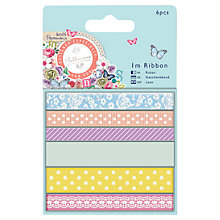 Buy Docrafts Papermania Bellissima Ribbon, Pack of 6 Online at johnlewis.com