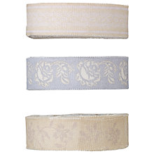 Buy Docrafts French Lavender Fabric Tape, 1m, Pack of 3 Online at johnlewis.com