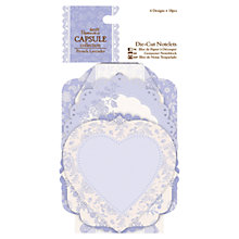 Buy Docrafts Papermania Capsule Collection Die-cut Notelets, Pack of 18 Online at johnlewis.com