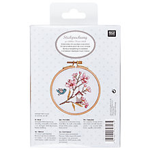 Buy Rico Flower & Bird Embroidery Kit Online at johnlewis.com