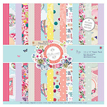 Buy Docrafts Papermania Bellissima Craft Paper, Pack of 32 Online at johnlewis.com