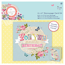 Buy Docrafts Papermania Bellissima Card Kit, Pack of 2 Online at johnlewis.com