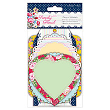 Buy Docrafts Papermania Simply Floral Die-cut Notelets, Pack of 18 Online at johnlewis.com